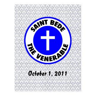 Saint Bede the Venerable Postcard