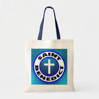 Saint Benedict Canvas Bags
