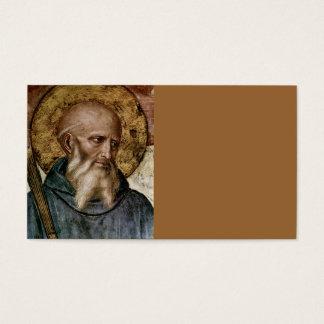 Saint Benedict Business Card