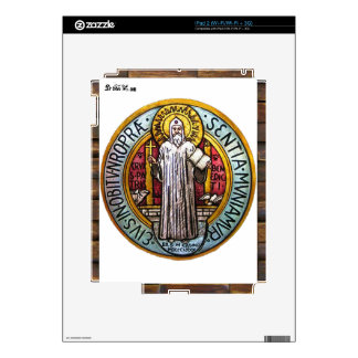 SAINT BENEDICT CATHOLIC 10 CUSTOMIZABLE PRODUCTS SKINS FOR THE iPad 2
