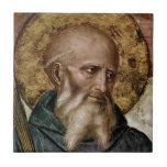 Saint Benedict Ceramic Tile