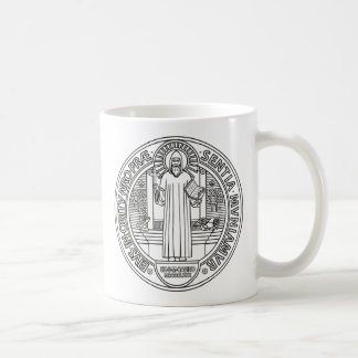 Saint Benedict Cross Medal both sides Coffee Mug