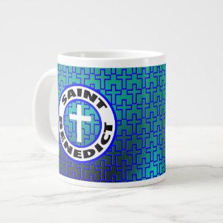 Saint Benedict Giant Coffee Mug
