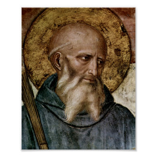 Saint Benedict Print