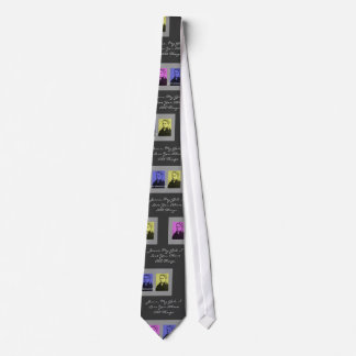 "SAINT BERNADETTE ""JESUS, MY GOD, I LOVE YOU..."" TIE"