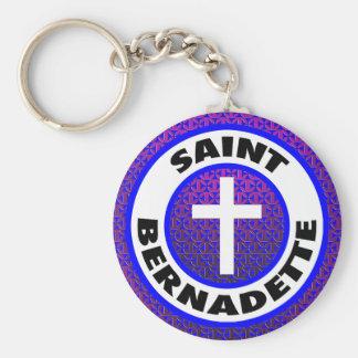 Saint Bernadette Keychain