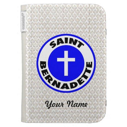 Saint Bernadette Kindle 3G Cases