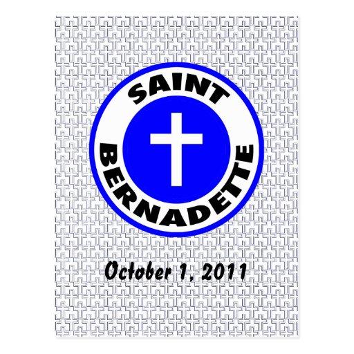 Saint Bernadette Postcard