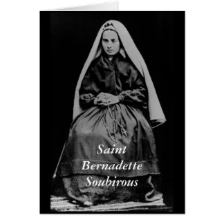 Saint Bernadette Soubirous Stationery Note Card