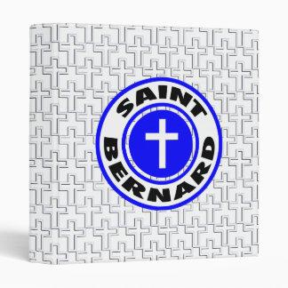 Saint Bernard 3 Ring Binder