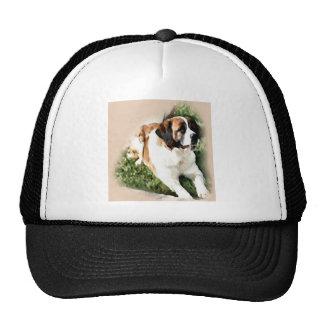 Saint Bernard Art Gifts Trucker Hat