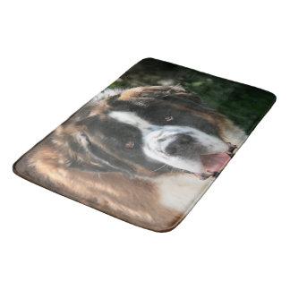Saint Bernard Bathroom Mat
