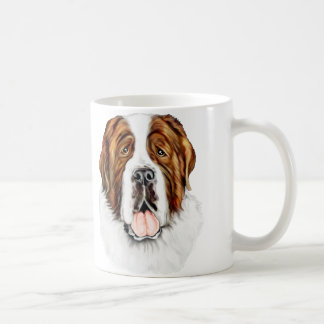 Saint Bernard Bust Coffee Mug