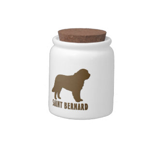 Saint Bernard Candy Jar