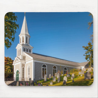 Saint Bernard Catholic Church With Old Hill Mouse Pad