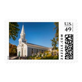 Saint Bernard Catholic Church With Old Hill Postage