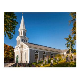 Saint Bernard Catholic Church With Old Hill Postcard