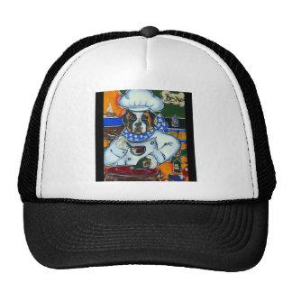 Saint Bernard Chef Trucker Hat