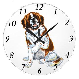 saint bernard clock