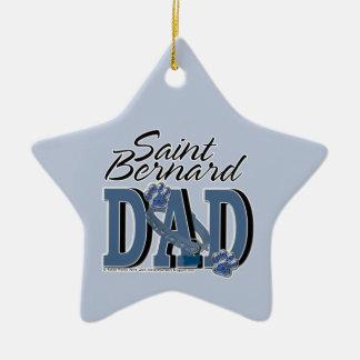 Saint Bernard DAD Christmas Ornament