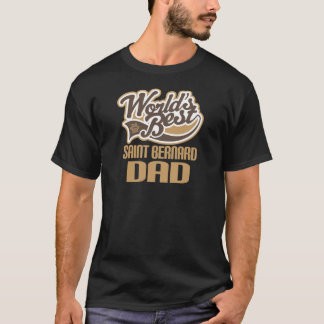 Saint Bernard Dad (Worlds Best) T-Shirt