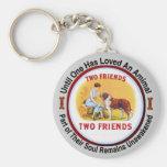 Saint Bernard Dog and Pet Lovers Keychains