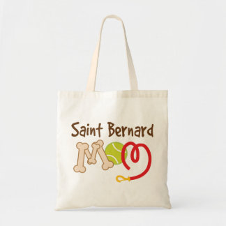 Saint Bernard Dog Breed Mom Gift Tote Bag
