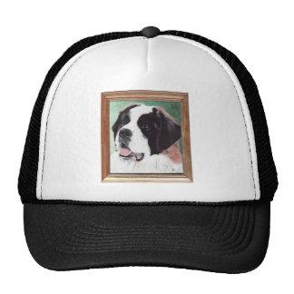 Saint Bernard Dog Breed Painting Trucker Hat