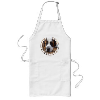 Saint Bernard Dog Long Apron