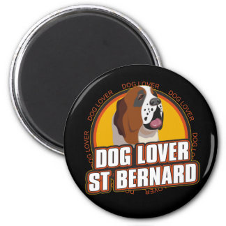 Saint Bernard Dog Lover Magnet