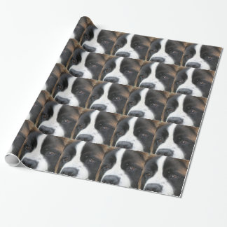 Saint Bernard Dog Wrapping Paper