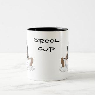 Saint Bernard drool cup Coffee Mugs