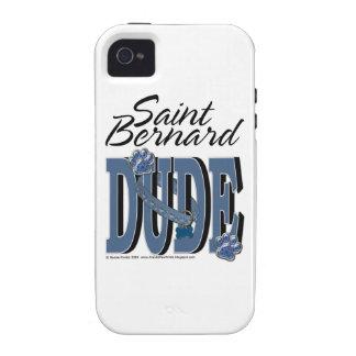 Saint Bernard DUDE Case-Mate iPhone 4 Covers