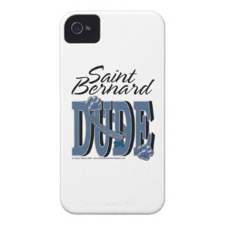 Saint Bernard DUDE Case-Mate iPhone 4 Cases