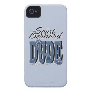 Saint Bernard DUDE iPhone 4 Covers