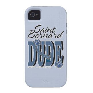 Saint Bernard DUDE Vibe iPhone 4 Covers