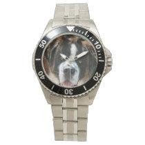 Saint Bernard Face Wrist Watch