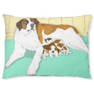 Saint Bernard Family Large Dog Bed