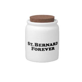 Saint Bernard Forever - Basic Candy Dish
