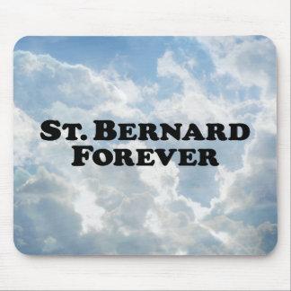 Saint Bernard Forever - Basic Mouse Pad