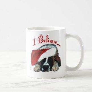 Saint Bernard I Believe Mug