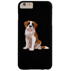 Case-Mate Barely There iPhone 6 Plus Case with Saint Bernard Phone Cases design