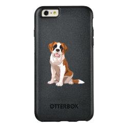 OtterBox Symmetry iPhone 6/6s Plus Case with Saint Bernard Phone Cases design