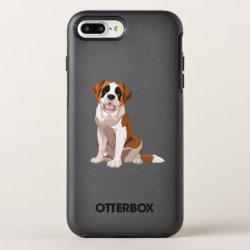 OtterBox Apple iPhone 7 Plus Symmetry Case with Saint Bernard Phone Cases design