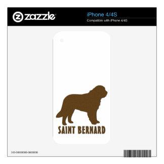 Saint Bernard iPhone 4 Decal