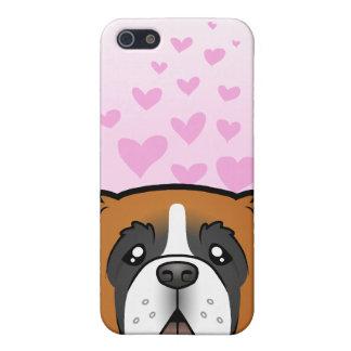 Saint Bernard Love Cover For iPhone 5/5S