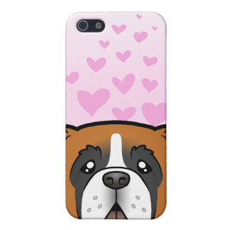 Saint Bernard Love Cover For iPhone SE/5/5s