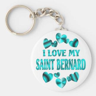 SAINT BERNARD Love Keychains