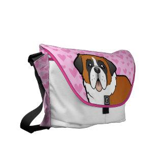 Saint Bernard Love Messenger Bag