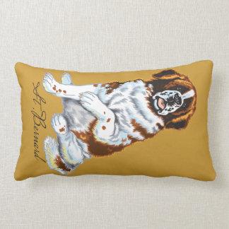 saint bernard lumbar pillow